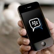 """Populiari susirašinėjimo aplikacija """"BlackBerry Messenger"""" tapo prieinama ir """"iOS"""" vartotojams"""