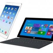 """Naujausiose """"Microsoft"""" planšetės """"Surface"""" reklamose pabrėžiami """"iPad"""" trūkumai"""