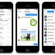 """Išleista atnaujinta """"Facebook"""" susirašinėjimo aplikacija """"Messenger"""""""
