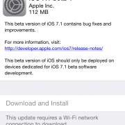 """""""iOS 7.1"""" versija – jau ne už kalnų"""