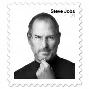 JAV bus išleistas pašto ženklas su Steve'o Jobso atvaizdu