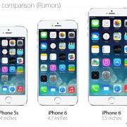 """Gandai: """"Apple"""" rugsėjį išleis du 4,7 ir 5,5 colių ekranus turinčius """"iPhone"""""""