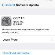 """""""Apple"""" išleido """"iOS 7.1.1"""" atnaujinimą"""