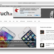 """Gaukite iTouch.lt naujienų pranešimus tiesiai į savo """"Mac""""!"""