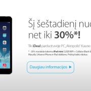 """JAMAM akcijos proga – nuolaidos Kauno """"iDeal"""" salone"""