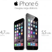 """Paaiškėjo, už kiek """"Omnitel"""" pardavinės naujuosius """"iPhone 6"""""""