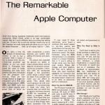"""Pirmas apie """"Apple"""" kada nors parašytas straipsnis"""