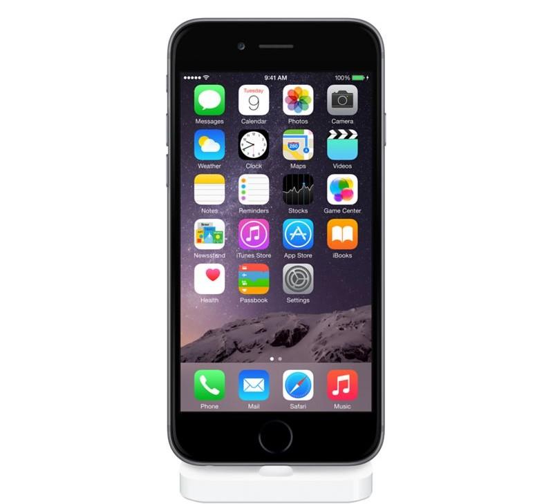 """""""Lightning"""" stovas, skirtas """"iPhone"""""""