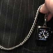 """Dizaineris Tomas Fordas pavertė """"Apple Watch"""" kišeniniu laikrodžiu"""