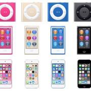 """""""Apple"""" netyčia atskleidė naujas muzikos grotuvų """"iPod"""" spalvas"""