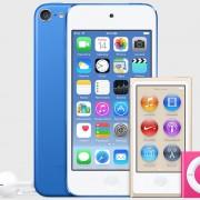"""Atnaujintą muzikos grotuvų """"iPod"""" liniją """"Apple"""" gali pristatyti jau kitą savaitę"""