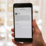"""""""iOS 9"""" atnaujinimai nebekels problemų įrenginio atminčiai"""