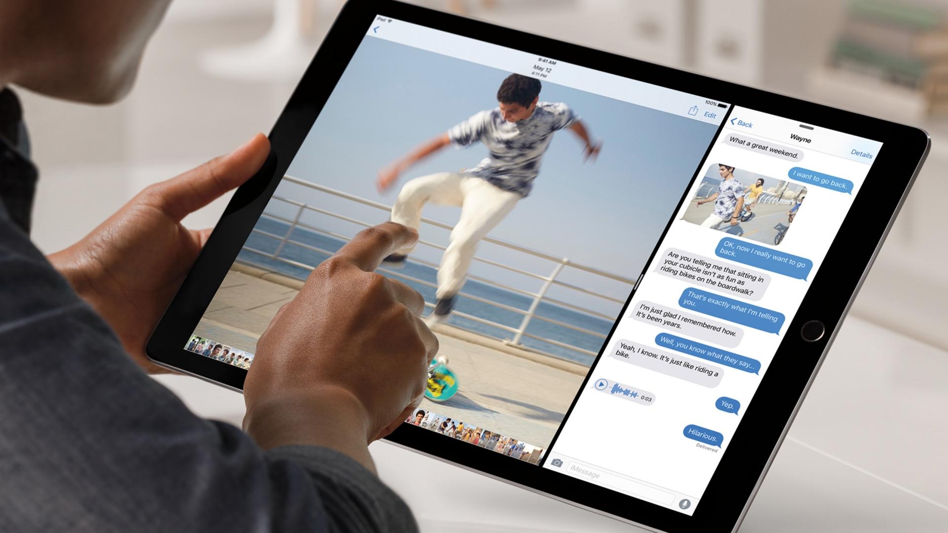 """""""Apple"""" lapkričio 11-ą gali pradėti prekybą """"iPad Pro"""""""
