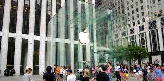 Apple parduotuvė