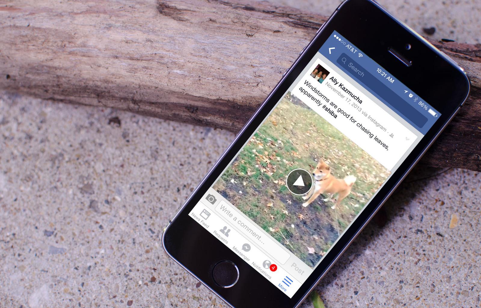 """""""Facebook"""" ištaisė sparčiai bateriją eikvojančią aplikacijos versiją"""