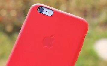 """Raudonas """"iPhone 6s"""" dėklas"""
