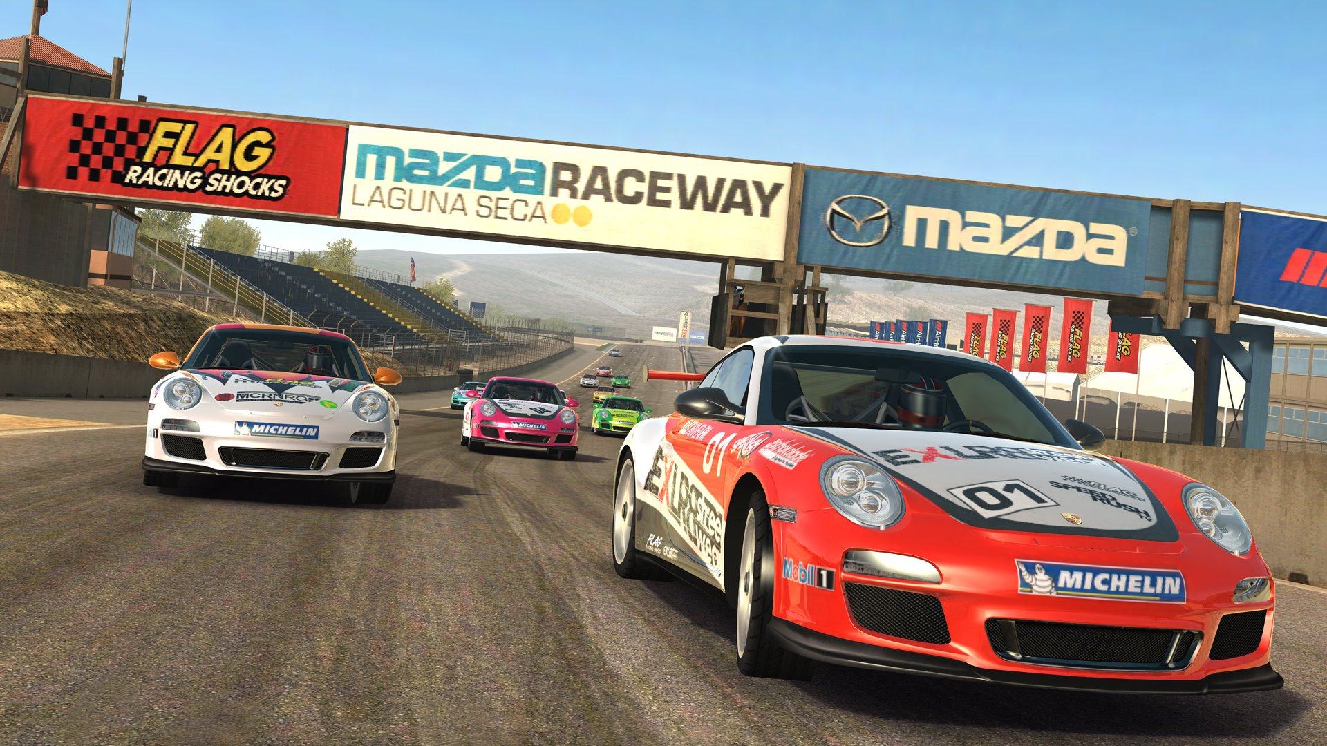 """Real Racing 3"" atkeliavo į ""Apple TV"" ekranus"
