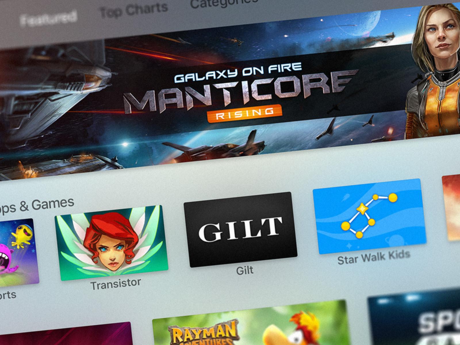 """""""Apple TV"""" bus galima žiūrėti trumpus aplikacijų pristatymus"""