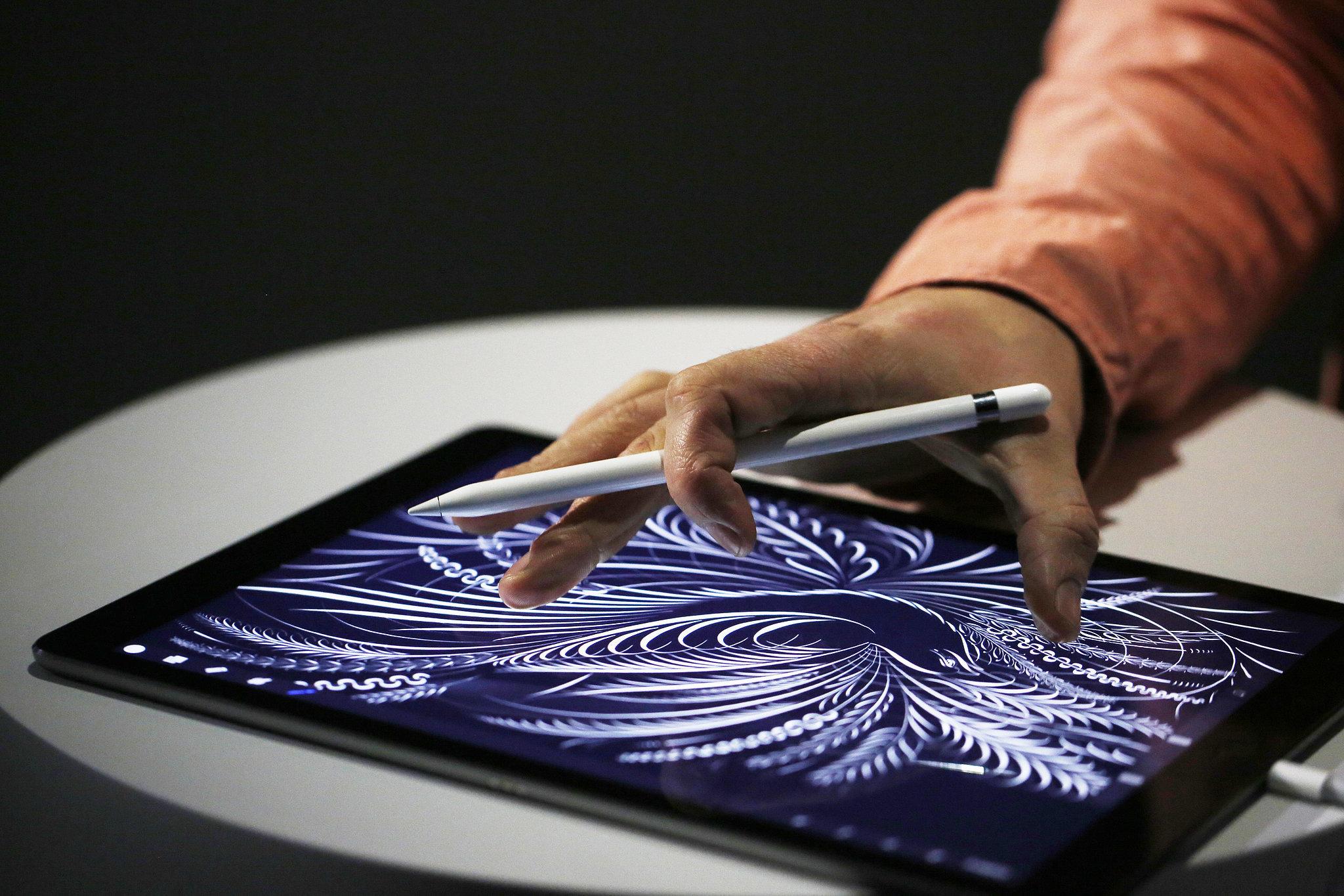 """Apple Pencil"", ""iPad Pro"""