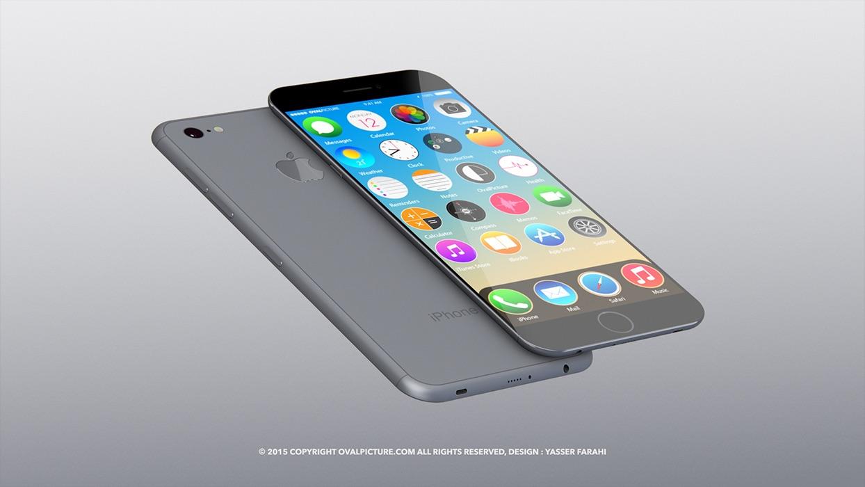 """Paaiškėjo, kaip gali atrodyti telefonas """"iPhone 7"""""""