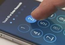 """""""iPhone"""" užrakinimo kodas"""