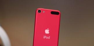 """Rožinės spalvos """"iPod touch"""""""