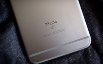 """""""iPhone 6s"""" galinė dalis"""