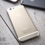 """iPhone SE"" konceptas"