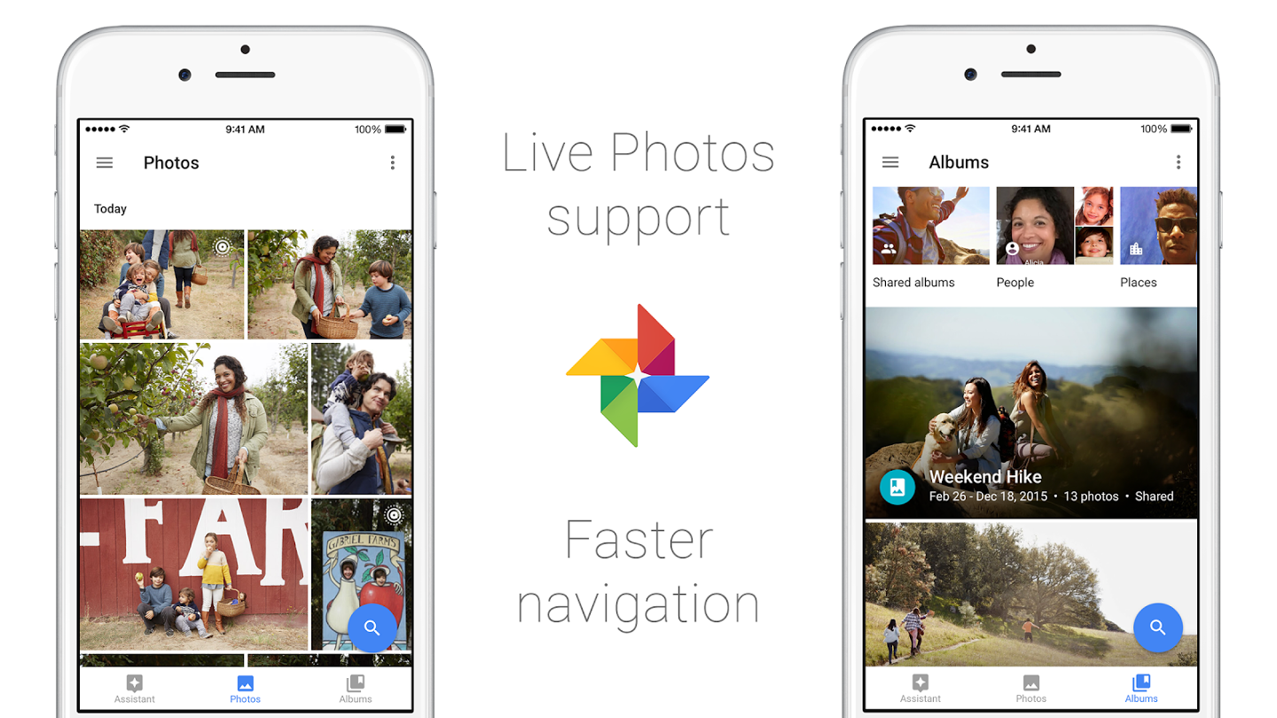 """Google Photos"" aplikacija"