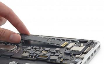"""""""Apple"""" SSD atmintis"""