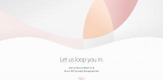Kovo 21-osios renginio oficialus kvietimas atrodo būtent taip. / Apple.com nuotr.
