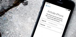 """""""iOS"""" aktyvacijos užraktas"""