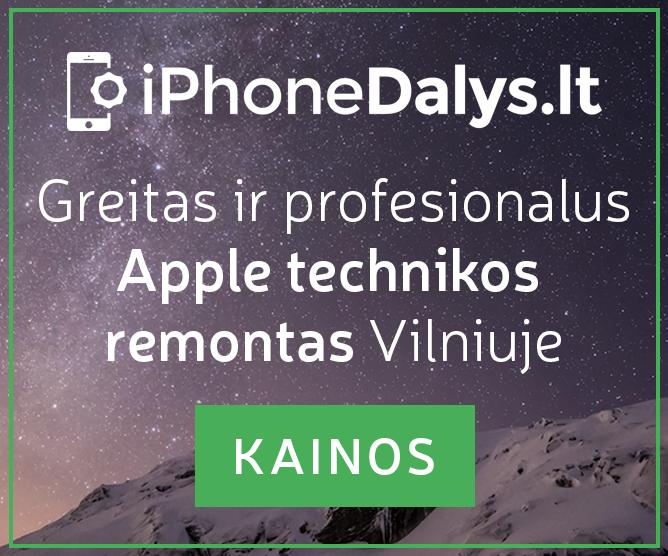 """iPhoneDalys.lt remontas"""""""