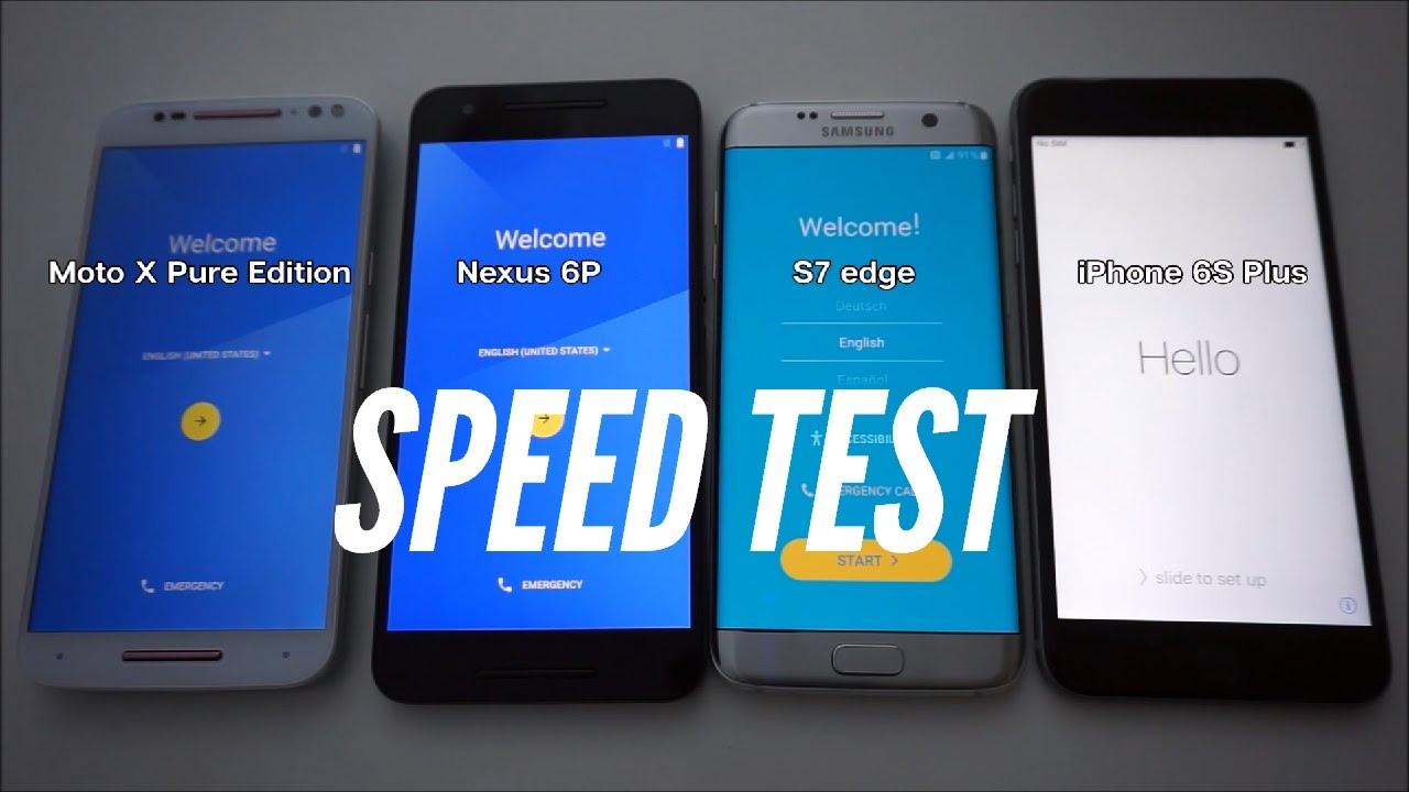 """Greičio testas: """"iPhone 6s Plus"""" įveikė savo konkurentą """"Samsung Galaxy S7 Edge"""""""