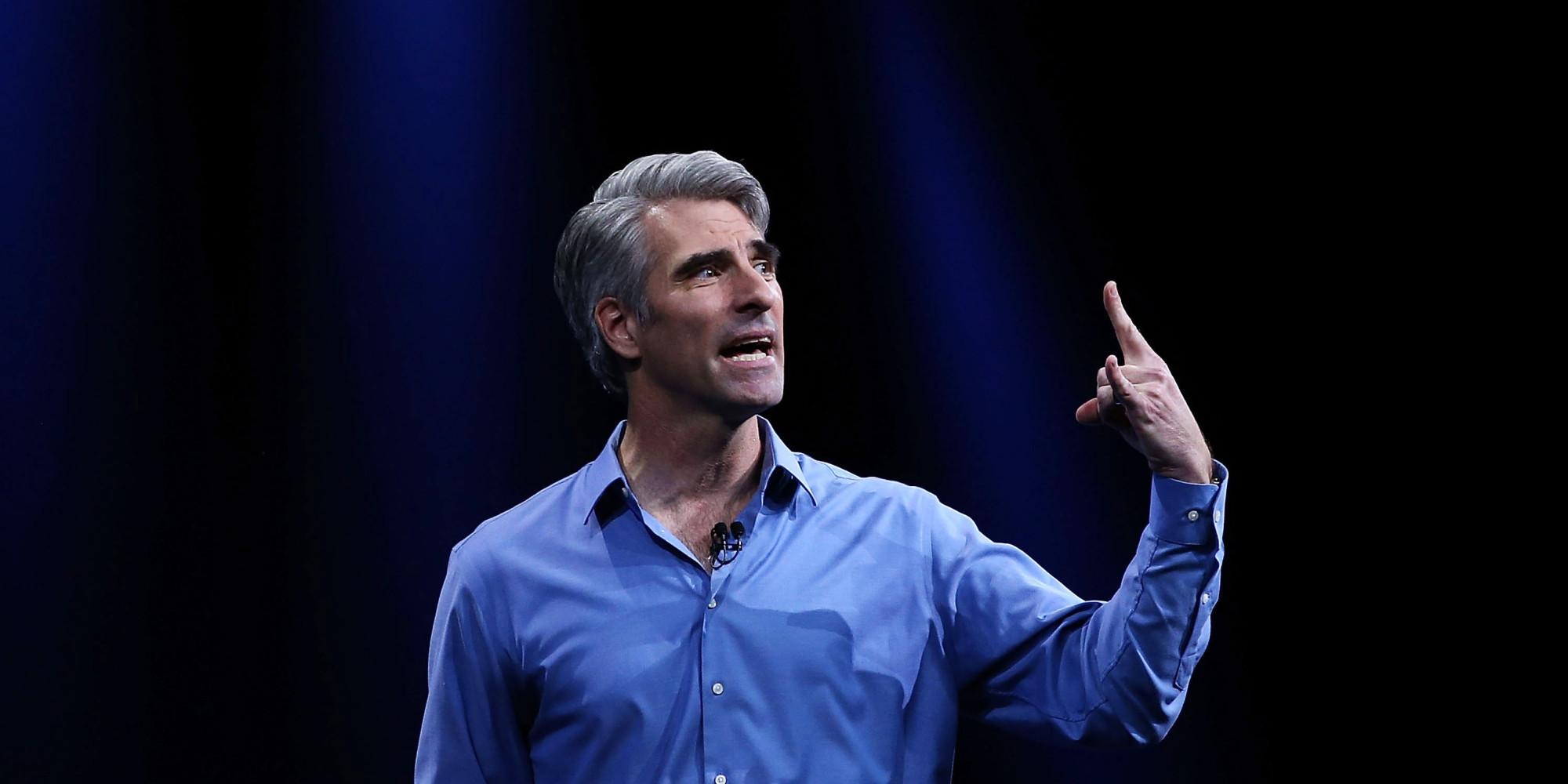 """""""Apple"""" viceprezidentas Craigas Federighis: FTB nori sugrąžinti nesaugius laikus"""