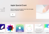 """Apple Events"" aplikacija"